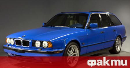 Едно от общо двете произведени комбита BMW M5 Touring Е34