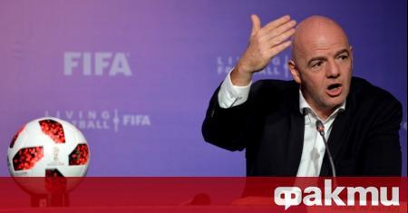 Президентът на ФИФА - Джани Инфантино, наруши мълчанието си и