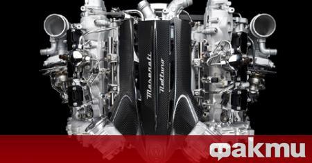 Maserati представи изцяло нов турбомотор, който ще замени шест- и