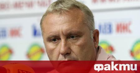Старши треньорът на Арда - Николай Киров, заяви след равенството