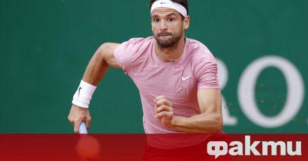 Първата ракета на българския тенис Григор Димитров падна с три