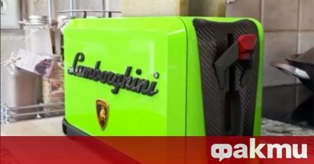 В интернет се появи видео с тостер... Lamborghini. Интересната джаджа