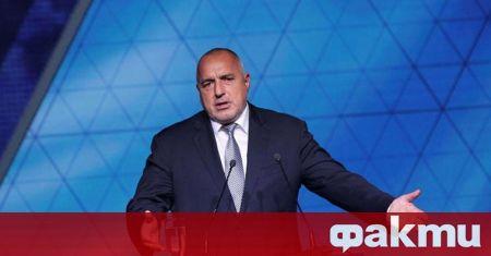 Премиерът в оставка и лидер на ГЕРБ Бойко Борисов събира