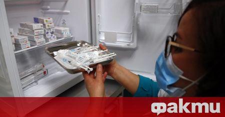 Американската администрация по храните и лекарствата заяви, че замразени флакони