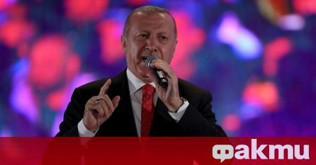 Турският президент Реджеп Тайип Ердоган обвини Гърция в разпалване на