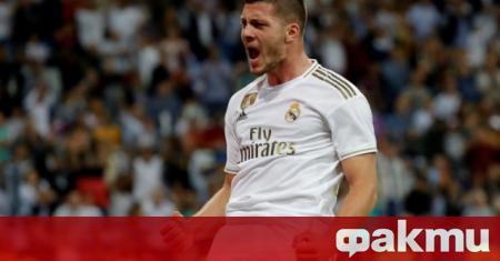 Нападателят на Реал Мадрид Лука Йович е трансферна цел на