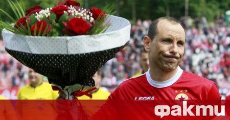 Бившата звезда на националния отбор Мартин Петров сподели искреното си