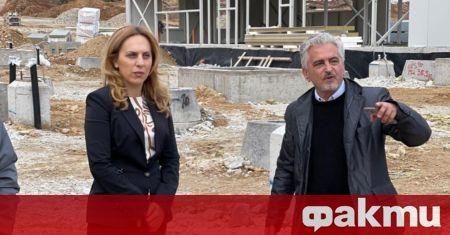 Вицепремиерът и министър на туризма Марияна Николова провери напредъка на