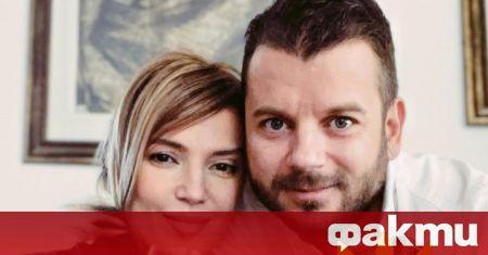 Ирина Тенчева и съпругът ѝ - продуцентът Иван Христов, бяха