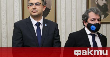 """Кандидат-премиерът на """"Има такъв народ"""" Пламен Николов заяви в Народното"""