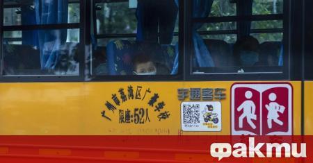 Континентален Китай е регистрирал през последното денонощие само един нов