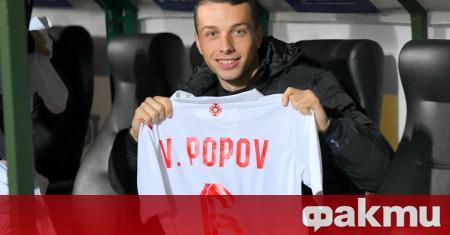 Бранителят на Черно море Виктор Попов получи повиквателна за младежкия