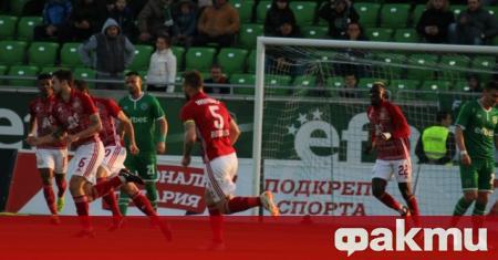 ЦСКА завърши 1:1 с шампиона Лудогорец на стадион