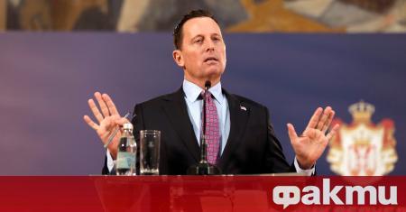 Специалният посланик на Вашингтон за диалога между Прищина и Белград
