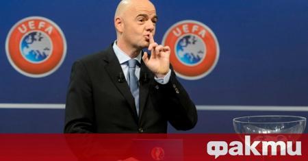 Швейцарската прокуратура започна наказателно производство срещу президента на ФИФА Джани