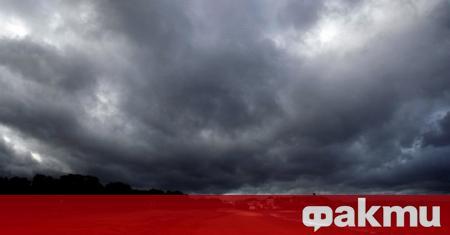 И днес ще е предимно облачно, с краткотрайни превалявания, придружени