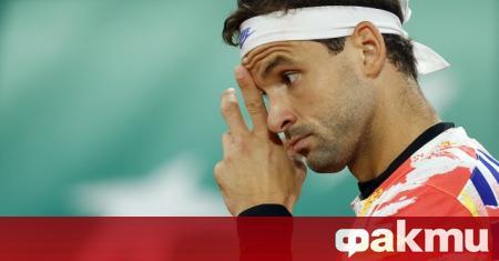 Най-добрият български тенисист Григор Димитров загуби от британеца Даниел Еванс