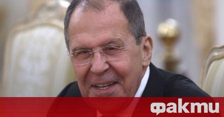 Руският външен министър отправи интересна забележка към журналист по време