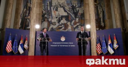 Представители на Сърбия и Косово ще се срещнат във Вашингтон.
