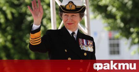 Британската принцеса Ана - единствената дъщеря на кралица Елизабет Втора,