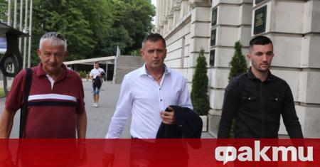 Синът на треньора на Локомотив Пловдив Бруно Акрапович тренира от