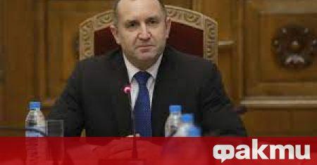 Държавният глава Румен Радев ще проведе консултации с парламентарно представените