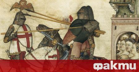 През 1386 г., няколко дни след Коледа, огромна тълпа се