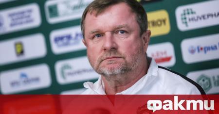 Старши треньорът на Лудогорец Павел Върна сподели, че тимът му