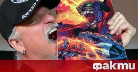 Фронтменът на американската хеви метъл група Iced Earth Джон Шафър