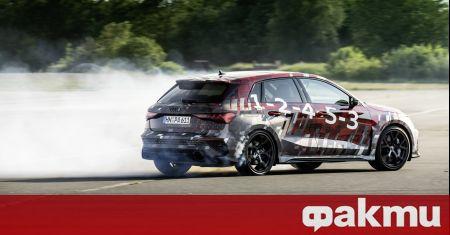 Audi разкри малко повече детайли за новата генерация RS3 преди
