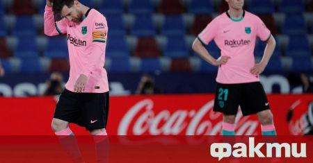 Барселона се провали за пореден път в битката за титлата,