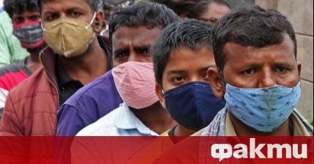 Индийското министерство на здравеопазването съобщи днес за малко над 70