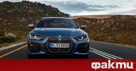 Баварците най-накрая представиха серийната версия на новото BMW Серия 4,