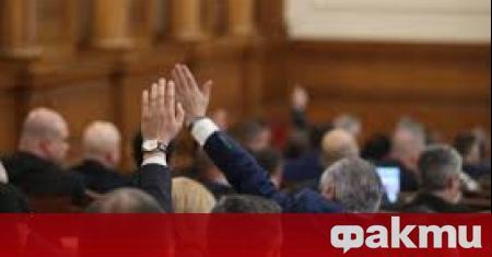 Депутатите ще обсъдят на първо четене законопроекта на Обединени патриоти,