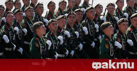 Парадът, посветен на 75-годишнината от Победата на СССР над Нацистка