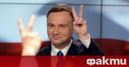 Преизбраният за президент на Полша Анджей Дуда положи днес клетва