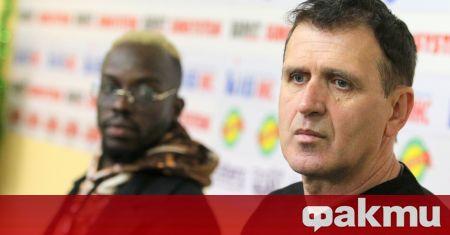 Треньорът на ЦСКА Бруно Акрапович обеща отборът да бъде с