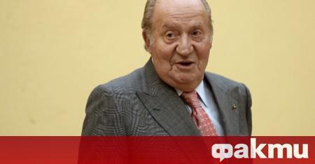 Испанският крал беше информиран, че неговият предшественик ще напусне страната,
