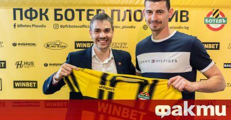 Ботев (Пловдив) удължи договора на Георги Аргилашки, съобщиха от клуба