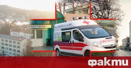 """Приемът в Спешното отделение на Ямболската областна болница """"Св. Пантелеймон"""