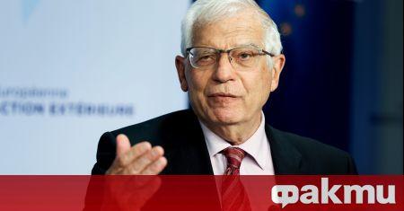 Върховният европейски представител по външните работи Жозеп Борел проведе разговор