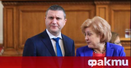 Министърът на финансите Владислав Горанов призова за умереност и разпределяне