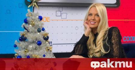 Натали Трифонова заголи дългите си бедра в ефира на bTV,
