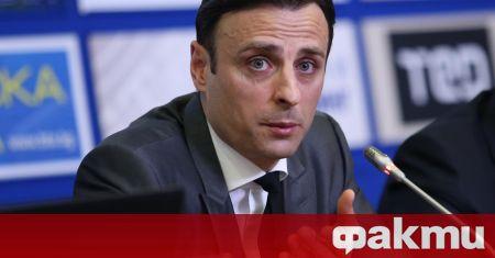 Кандидатът за президент на Българския футболен съюз Димитър Бербатов се