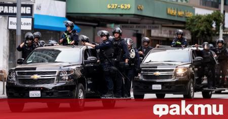 Полицията на Лос Анджелис обяви всички събирания в центъра на