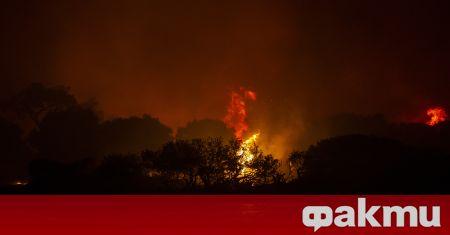 Три противопожарни самолета от Испания и Хърватия се присъединиха към