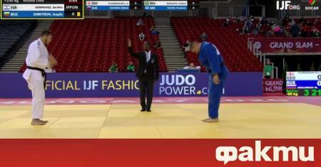 Без българин на почетната стълбичка остана Големия шлем по джудо