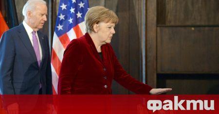 Германският канцлер Ангела Меркел и президентът на САЩ Джо Байдън