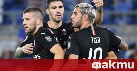 Милан разгроми Лацио като гост в мач от 30-ия кръг