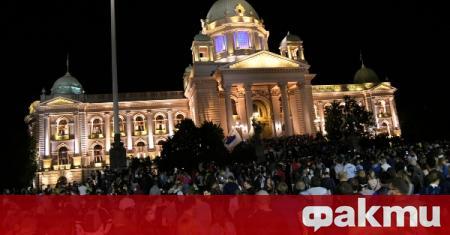 Тази вечер белградчани готвят нова атака на сръбския парламент. ФАКТИ